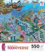 Ceaco Steve Skelton Atlantis Jigsaw Puzzle