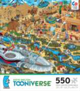 Ceaco Steve Skelton's Tooniverse Building the Pyramids Jigsaw Puzzle