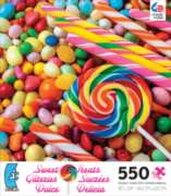 Ceaco Sweet Treats Lollipops & Jelly Beans Jigsaw Puzzle