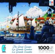 Ceaco The Great Excape Jigsaw Puzzle | The Fishing Boat Sets Sail