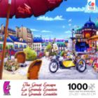 The Great Excape: The Newspaper Stand in Paris - 1000pc Jigsaw Puzzle by Ceaco