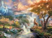 Ceaco Thomas Kinkade Bambi's First Year Jigsaw Puzzle