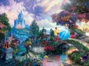 Ceaco Thomas Kinkade Cinderella Wishes Upon a Dream Jigsaw Puzzle