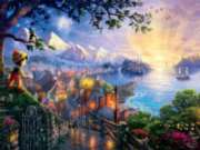 Ceaco Thomas Kinkade Pinocchio Wishes Upon a Star Jigsaw Puzzle