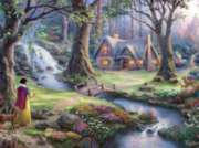 Ceaco Thomas Kinkade Snow White Discovers the Cottage Jigsaw Puzzle