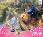 Thomas Kinkade Disney Princess: Beauty and the Beast - 300pc Oversized Jigsaw Puzzle by Ceaco