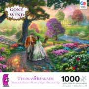 Ceaco Thomas Kinkade Gone with the Wind Jigsaw Puzzle