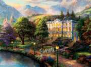 Ceaco Thomas Kinkade The Sound of Music Jigsaw Puzzle