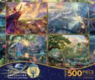 Thomas Kinkade: 4 in 1 Disney Dreams Collection - Series 1 Multi-Pack - 500pc Jigsaw Puzzle by Ceaco