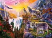 Ceaco Wolves Jigsaw Puzzle   Wolves in the Sun
