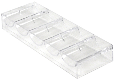 Acrylic Chip Rack (100 Capacity / Stackable)