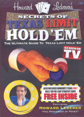 Poker DVD: Howard Lederer's Secrets of Texas Limit Hold'Em