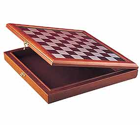 15.5&quot; Board and Box Combo - Chessboard