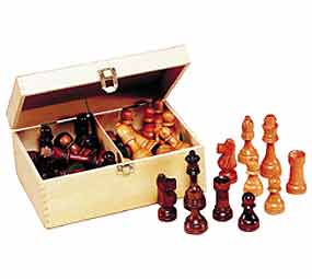 "Chess in a Box - 3.5"" Chessmen"