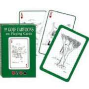 Golf Cartoons - Playing Cards