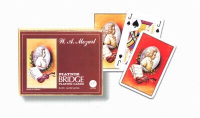 W.A. Mozart - Bridge Set Playing Cards