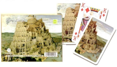 Tower of Babel - Double Deck Playing Cards
