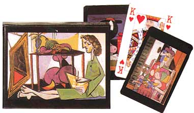 Picasso - Double Deck Playing Cards
