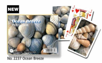 Ocean Breeze - Double Deck Playing Cards