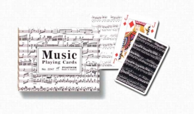 Music - Double Deck Playing Cards
