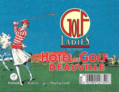 Ladies Golf (Jumbo Index) - Double Deck Playing Cards