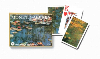 Monet: Lilies (Jumbo Index) - Double Deck Playing Cards