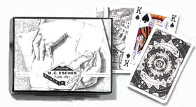 Escher: Left & Right - Double Deck Playing Cards