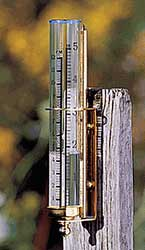 Glass & Copper - Rain Gauge