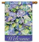 Hydrangea Blooms - Standard Flag by Magnet Works