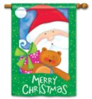 Here Comes Santa - Standard Flag by Magnet Works