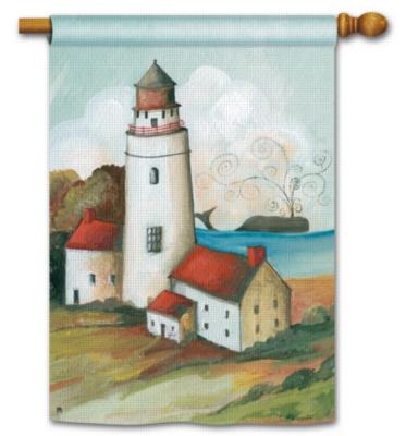 Lighthouse Bay - Standard Flag by Magnet Works