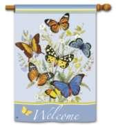 Butterflies - Standard Flag by Magnet Works