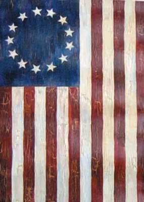 Betsy Ross - Garden Flag by Toland