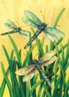 Dragonflies in Flight - Garden Flag by Toland