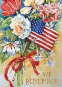 We Remember - Garden Flag by Toland