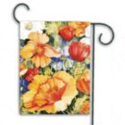 Lively Poppies - Garden Flag by Toland