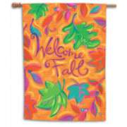 Leaves Falling (Welcome Fall) - Standard Flag by Toland