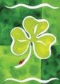Shamrock & Friend - Standard Flag by Toland