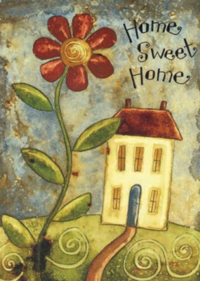 Home Sweet Home - Standard Flag by Toland
