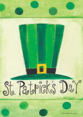 St. Pat's Hat - Standard Flag by Toland