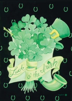 Irish Bouquet - Garden Flag by Toland