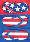 Patriotic Flips - Standard Flag by Toland