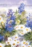 Wildflowers - Standard Flag by Toland