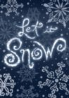 Let it Snow - Standard Flag by Toland