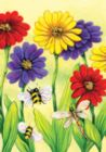 Zinnia Flight - Garden Flag by Toland