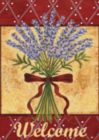 Lavender Spray - Garden Flag by Toland
