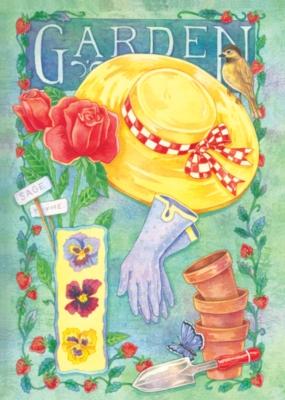 Gardener's Glory - Standard Flag by Toland