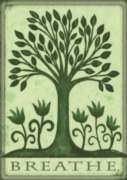 Breathe - Eco Friendly Garden Flag by Toland