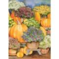 Pumpkins & Mums - Standard Flag by Toland