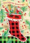 Christmas Greetings - Standard Flag by Toland